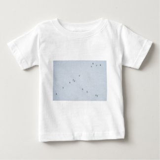 Many mosquitoes on a wall baby T-Shirt