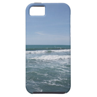 Many people surfing on surfboards in the sea iPhone 5 cover
