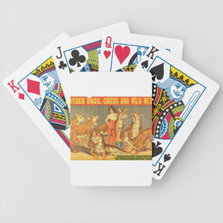Many Pet Tigers Bicycle Playing Cards