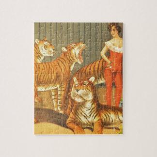 Many Pet Tigers Jigsaw Puzzle