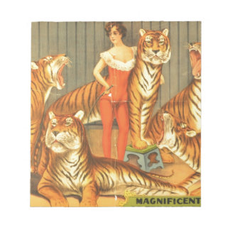 Many Pet Tigers Notepad