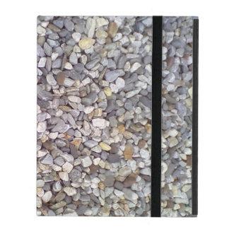 Many small stones iPad folio case