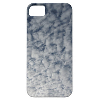 Many soft clouds against blue sky background barely there iPhone 5 case