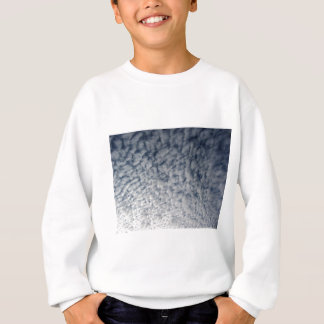 Many soft clouds against blue sky background sweatshirt