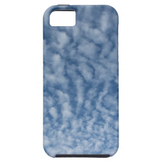 Many soft little clouds against sky background iPhone 5 case