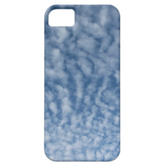 Many soft little clouds against sky background iPhone 5 cover