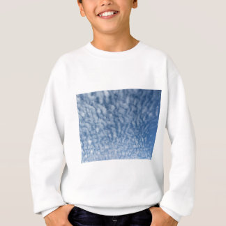 Many soft little clouds against sky background sweatshirt