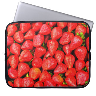 Many Strawberries! Laptop Sleeve