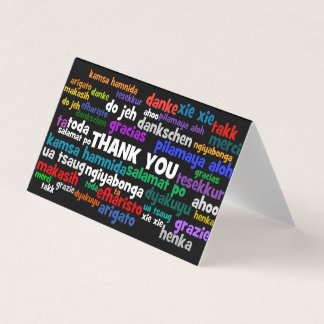 Many Ways to Say Thanks Gift Tag