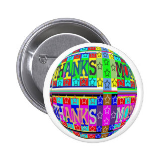 MANY ways to say THANKS MOM: by Naveen 6 Cm Round Badge