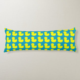 Many Yellow Duckies Body Cushion