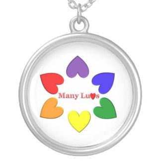 ManyLuvs Logo Necklace