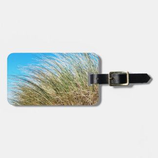 Manzanita Beach Grasses, Coastal Nature Bag Tag