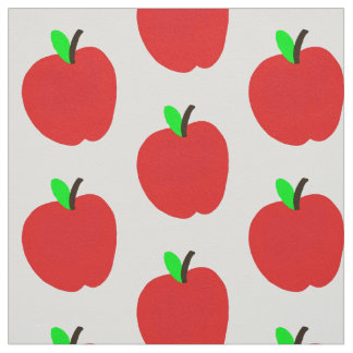 manzanitas red fabric
