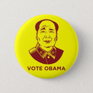 """Mao """"Vote Obama"""" Button"""