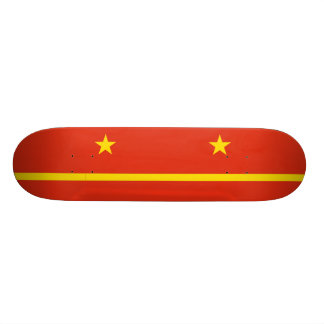 Mao Zedong S Proposal For The Prc flag Skate Board Decks