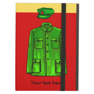 Mao Zedong Zhongshan suit Case For iPad Air