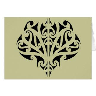 Maori design greeting cards