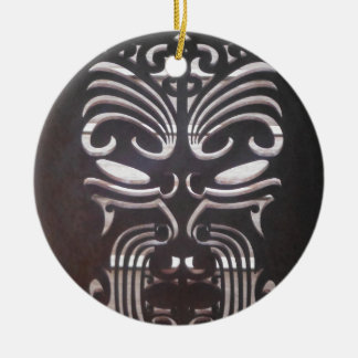 maori designs 3 ceramic ornament