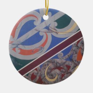 maori designs 6 ceramic ornament