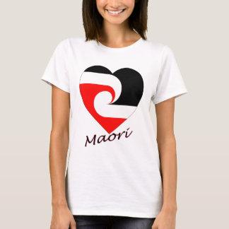 Maori Flag Heart T-Shirt