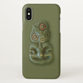 Maori Hei-Tiki iPhone X Case