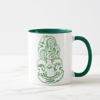 Maori Hei-Tiki Sketch Mug