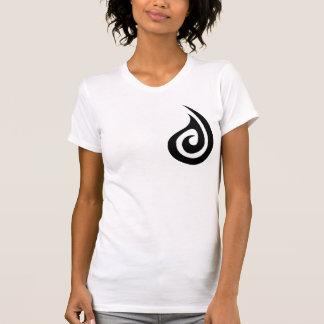 Maori Koru+Fish Hook for Woman T-Shirt