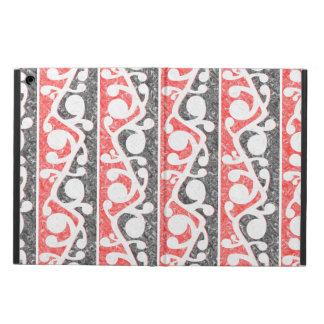 Maori Kowhaiwhai Distressed Pattern iPad Air Cover