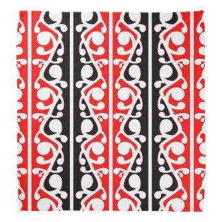 Maori Kowhaiwhai Traditional Pattern Bandana