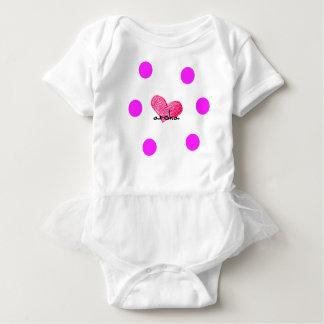 Maori Language of Love Design Baby Bodysuit