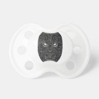 Maori Mask Scratchboard Dummy