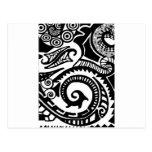 maori post cards