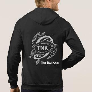 Maori Tamoko vest with TNK Logo Hoodie