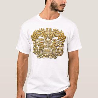 Maori Tattoo - Gold T-Shirt