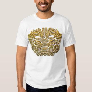 Maori Tattoo - Gold Tshirts