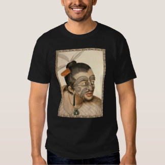 Maori Warrior about 1784 T-shirt