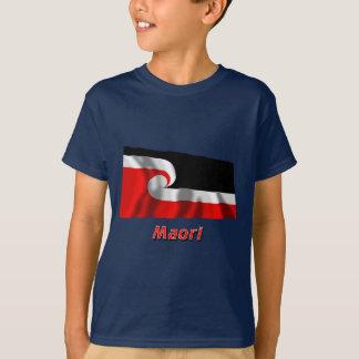 Maori Waving Flag with Name T-Shirt