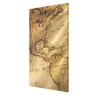 Map 3 canvas prints