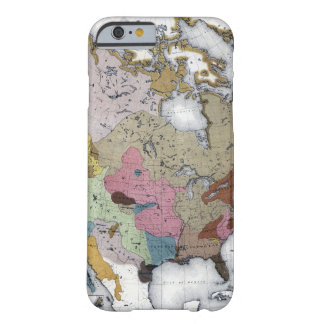 MAP: AMERICAN INDIANS 3 BARELY THERE iPhone 6 CASE