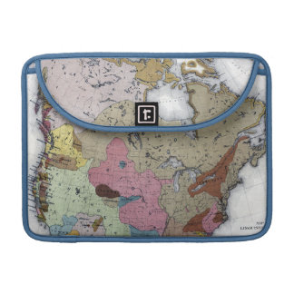 MAP: AMERICAN INDIANS 3 MacBook PRO SLEEVE