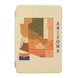 Map and Flag of Arizona iPad Mini Cover