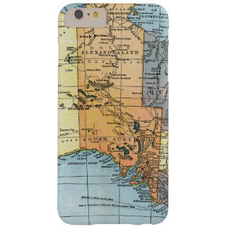 MAP: AUSTRALIA, c1890 Barely There iPhone 6 Plus Case