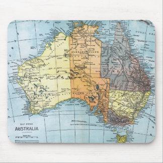 MAP: AUSTRALIA, c1890 Mouse Pad