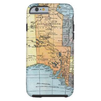 MAP: AUSTRALIA, c1890 Tough iPhone 6 Case