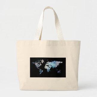 Map Tote Bags
