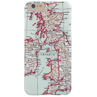 MAP: BRITISH ISLES, c1890 Barely There iPhone 6 Plus Case