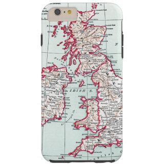 MAP: BRITISH ISLES, c1890 Tough iPhone 6 Plus Case