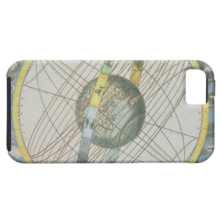 Map Charting the Orbit of the Moon around the Eart iPhone 5 Cover