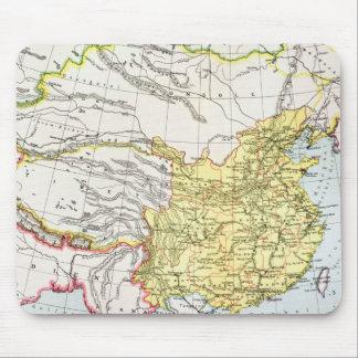 MAP: CHINA, 1910 MOUSE PAD